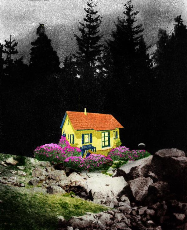 Unbewohntes Haus