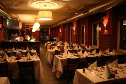 Das Restaurant Gleis 9 in Oerlikon. (Bild: Anita Hugi)