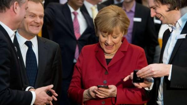 Angela Merkel entdeckt NEULAND.