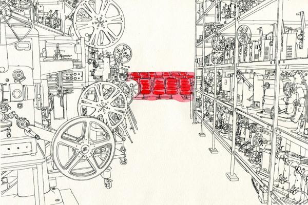 5. August 2014 Im Archiv des Vereins «Lichtspiel» in Bern werden die Filme nicht nur gesammelt und unter besten Bedingungen konserviert, sie werden auch lebendig gehalten, indem man sie im hauseigenen Kino vorführt. Früher hat hier die Garnfabrik «Ryff» die Fäden gesponnen – für die ganze Welt.