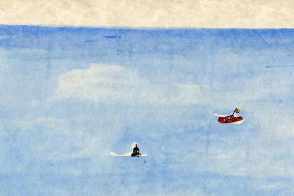 28. Dezember 2014 Am Hafen in Cassis beobachte ich einen Taucher mit Harpune. Er hat einen Tintenfisch geschossen. Wieder an Land sitzt er erst einige Minuten erschöpft da, dann schlägt er das Tier viele Male gegen einen Felsen. Ich habe gehört, dass ihn das besonders zart machen soll.