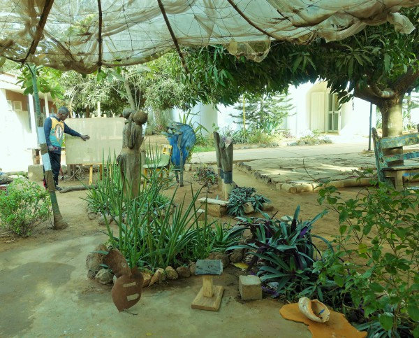 Vorgärten im «Village des Arts»
