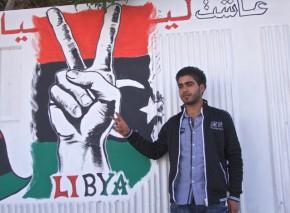 Malek Bin Nisr: Revolutionsbild, Zawiat Dahmani Art School, Tripolis 2012