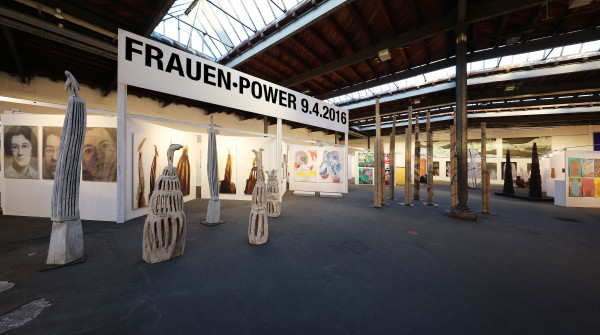 Frauen Kunst Power im Art Dock Zürich